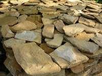 Дикий камень песчаник облицовочный 1 см