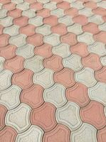 Плитка тротуарная Бикини (литье) 290*45