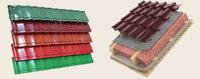 Металлочерепица (монтерей) глянец полиэстер толщина - 0.5мм , купить, заказать, продажа, недорого, низкая цена, Херсон, Новая Каховка, Каховка